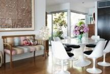 Inspired Dining Spaces / Our favorite places to meet and eat.