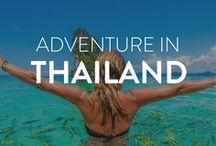 Adventure in Thailand / Travel Thailand and discover off-the-beaten-path destinations and must-do things while you're in the country. From temples, all the way to beaches, Thailand has a little bit of everything for everyone.