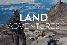 Land Adventures / Everything from trekking, mountain biking, and motorsports. Get the inside scope of the best land adventures out there and get inspired.