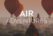 Air Adventures / Get high with us as we skydive, bungee, and zipline through some awesome air adventures.