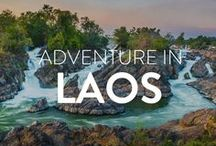 Adventure in Laos / Pinning inspiring content that will convince you to add Laos to your travel bucket list