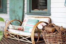 i DECORATE - porches and patios / Inspiration for my porches and patios! One of my favorite places to spend a sunny afternoon. / by Michael Wurm Jr. | Inspired by Charm