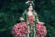 Haute Fleur / Flower and Garden Inspired Fashion  -