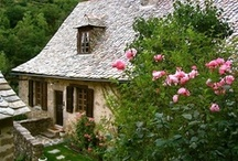 French Cottage & Cottage Garden / French country style springs from the gentle hills and valleys of rural France. It's an unstudied, collected approach, built on firmly entrenched local traditions and on cherished objects handed down through generations. Simple and sincere yet effortlessly elegant, it satisfies the soul as much as the eye.