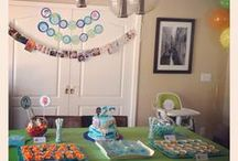 Liam's 2nd Bday (Bubble Guppies Party) / by Jaime D