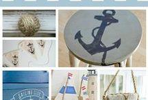 Nautical Bedroom / by Kris Turnbull Shade
