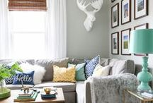 i DECORATE - living room / by Michael Wurm Jr. | Inspired by Charm