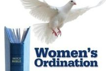"""About Women's Ordination #Adventist #Ministry #Laying-on-of-Hands #Q&A / This board provides resources in understanding and support for the ordination of women called to pastoral ministry in the Seventh-day Adventist Church.  I have also included some materials that do not specifically refer to the """"ordination of women""""-- but listen to the underlying message.  The 2015 General Conference is over (July11th) and the """"No"""" Vote won, but the movement to see this through is still strong... Ask to join a group called """"I Support Women In Ministry in Adventism"""" on Facebook."""