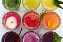Bottoms up / An assortment of beverages / by Charissa Mubita