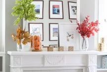i DECORATE - mantels / by Michael Wurm Jr. | Inspired by Charm