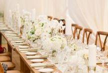 Wine Country Modern Rustic Wedding / #nancyliuchin #napawedding #privateestate #whitewedding #white #flowers #sonomawedding #sonoma #wedding #fete #soiree #longtables #receptions #destinationwedding #green #greenflowers  / by Nancy Liu Chin