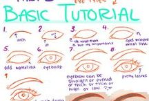 how to draw / sketch: Tutorials