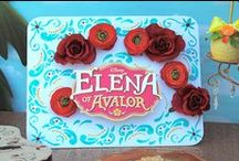 Elena of Avalor Party Ideas & Inspiration / We were honored to partner with Disney to celebrate the unveiling of the first Latina Princess Elena of Avalor (#ElenaofAvalor)! Here are some tips on how you can create your own festive Elena of Avalor celebration.