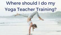 Inside our yoga teacher training / Wonder what it's like to take a yoga teacher training? These pins give you a sneak peek!