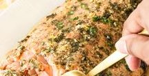 SALMON RECIPES / Salmon is my favorite! Find all kinds of easy, fast and drool worthy salmon recipes!