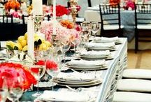 Party and Hostess DIY / party decor, event decor, events, parties, weddings, dinner, lunch, brunch / by Micaela Cree Bonner