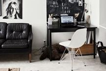 {Home office} / Inspiration to create a nice work space at home.
