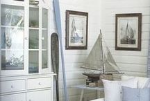 Nautical Decor / Nautical decor ideas to stay seaside all year long.