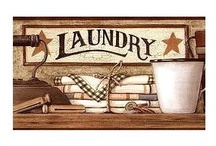 laundry rooms / by Lisa Bragdon