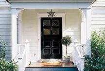 * front doors
