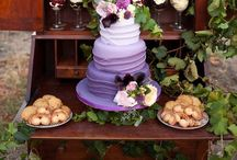 Sweet table  / Cupcakes, muffins, scones, cookies, macarons, cake, cake topper...