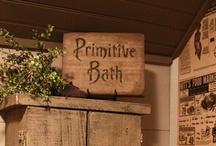 primitive bathrooms