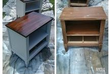 Furniture Fixes / Collecting ideas, inspiration, and tips for refinishing and upcycling estate sale and thrift shop furniture.