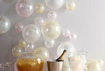 PARTY TIME / Esprit fêtes, idées pour festivité