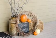 Fall: Halloween, Thanksgiving, All Things Fall