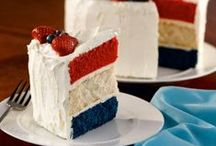 Fourth of July / July 4th, Independence Day, Fourth of July treats, decorations, party ideas