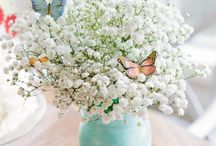 Butterfly garden party / #Butterfly #shabbychic #secretgarden #first #birthday