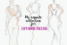 My capsule collection for Giovanna Nicolai