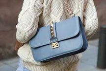 {Styling: Valentino Lock Bag}