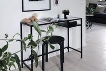{Styling: Ikea VITTSJÖ desk}
