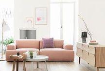 {Styling: Pink Sofa}