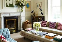 Living Spaces / by Kim Childs // Rare & Worthy