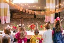 Fiesta en Jardin / Garden Party / La Fiesta de Olivia: Una selección de ideas e inspiración para fiestas en exterior.