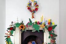 Navidad / Christmas / La Fiesta de Olivia: Inspiración e ideas para decorar tu casa en Navidad. Decoración de Navidad / by La Fiesta de Olivia