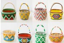 craft: fabric bowl & basket