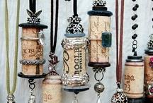 craft: buttons e corks