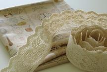 craft: lace-ribbons- bows