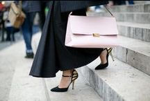 Best Street Style Accessories  / All the best shoes, bags, jewelry, sunglasses and more from the world's most stylish women. #streetstyle