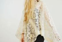 crochet textiles and garments