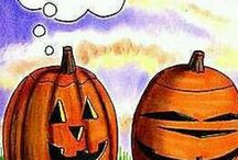 Fall & Halloween Decoration / by MIS PAPELICOS
