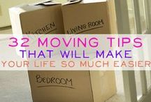 Moving house / Moving tips and inspirations, yes it's tough but it has to be done!