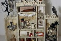 Crafts - Altered Printer Trays / Altered Printer Trays, Configuration & Shadow Boxes