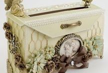 Crafts - Boxes, Bags & Baskets