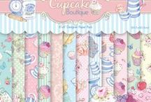 Dovecraft - Cupcake Boutique / Cards and other projects created with this theme