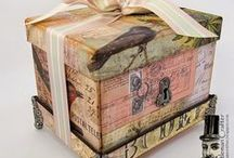 Crafts - Altered Cartons & Shoeboxes