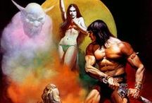 Conan the Barbarian / Illustrations of the ultimate Cimmerian